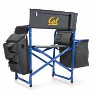California Golden Bears Gray/Blue Fusion Folding Chair