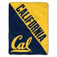 California Golden Bears Halftone Raschel Blanket