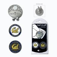 California Golden Bears Hat Clip & Marker Set