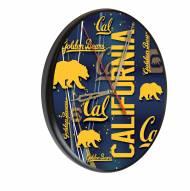 California Golden Bears Digitally Printed Wood Clock