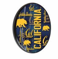 California Golden Bears Digitally Printed Wood Sign