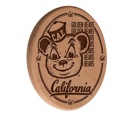 California Golden Bears Laser Engraved Wood Sign