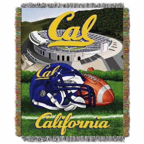 California Golden Bears Home Field Advantage Throw Blanket
