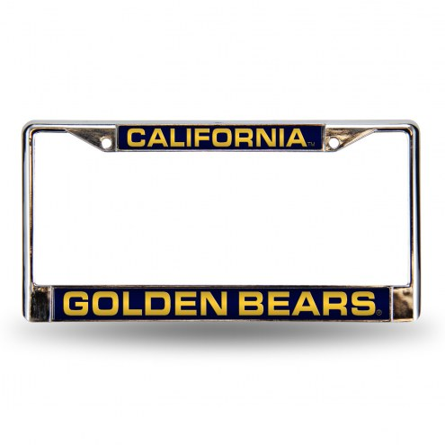 California Golden Bears Laser Chrome License Plate Frame