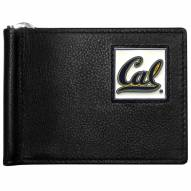 California Golden Bears Leather Bill Clip Wallet