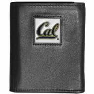 California Golden Bears Leather Tri-fold Wallet