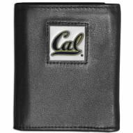 California Golden Bears Leather Tri-fold Wallet