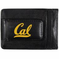 California Golden Bears Logo Leather Cash and Cardholder