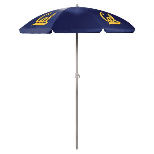California Golden Bears Navy Beach Umbrella