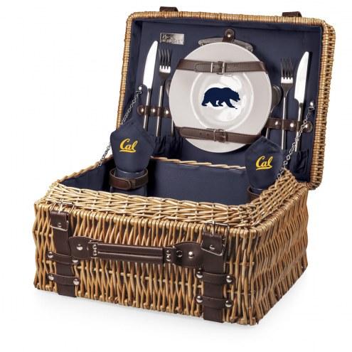 California Golden Bears Navy Champion Picnic Basket