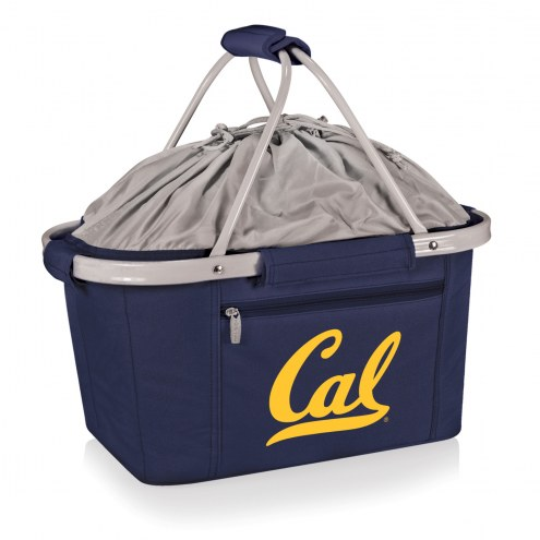 California Golden Bears Navy Metro Picnic Basket