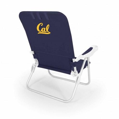 California Golden Bears Navy Monaco Beach Chair