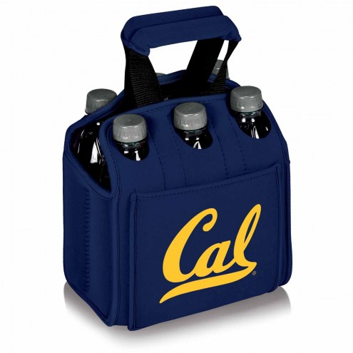 California Golden Bears Navy Six Pack Cooler Tote