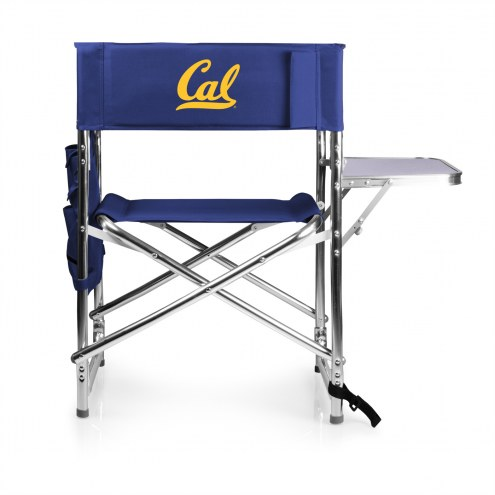 California Golden Bears Navy Sports Folding Chair