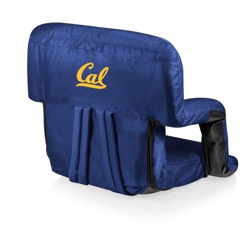 California Golden Bears Navy Ventura Portable Outdoor Recliner