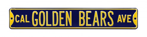 California Golden Bears NCAA Embossed Street Sign