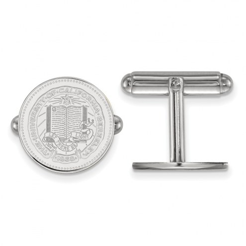 California Golden Bears NCAA Sterling Silver Cuff Links