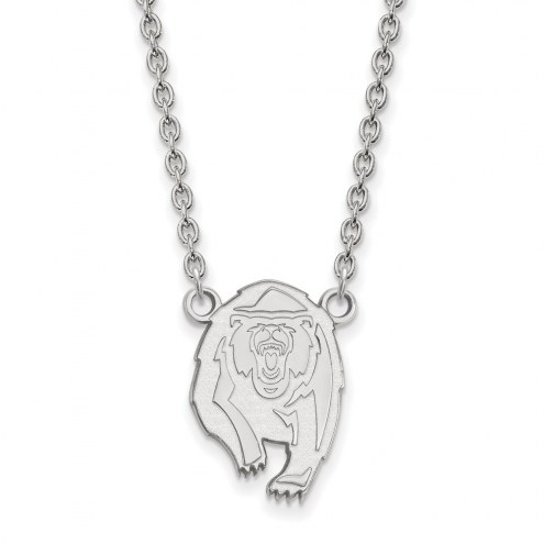 California Golden Bears NCAA Sterling Silver Large Pendant Necklace