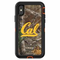 California Golden Bears OtterBox iPhone X Defender Realtree Camo Case