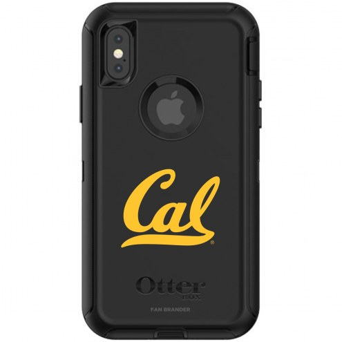California Golden Bears OtterBox iPhone X/Xs Defender Black Case