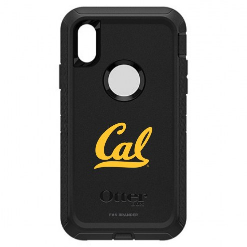 California Golden Bears OtterBox iPhone XR Defender Black Case