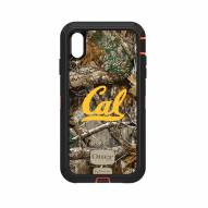 California Golden Bears OtterBox iPhone XS Max Defender Realtree Camo Case