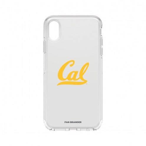 California Golden Bears OtterBox iPhone XS Max Symmetry Clear Case