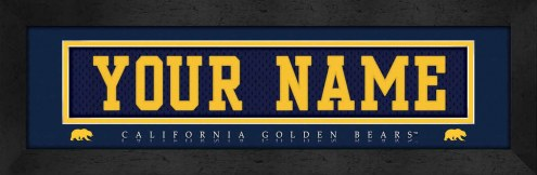 California Golden Bears Personalized Stitched Jersey Print