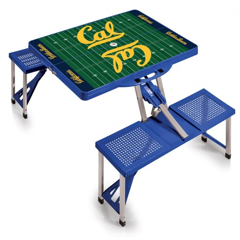 California Golden Bears Sports Folding Picnic Table