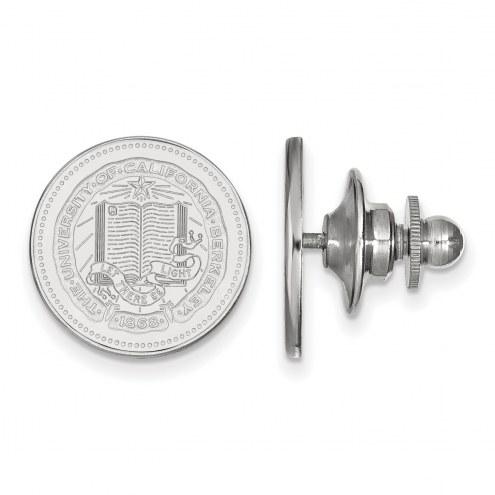 California Golden Bears Sterling Silver Crest Lapel Pin