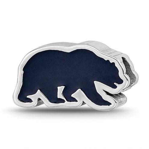 California Golden Bears Sterling Silver Enameled Bead
