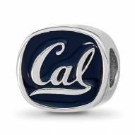 California Golden Bears Sterling Silver Logo Bead