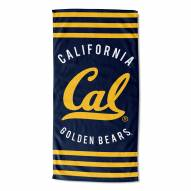 California Golden Bears Stripes Beach Towel