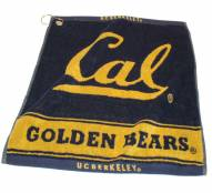 California Golden Bears Woven Golf Towel