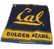 California Golden Bears Woven Golf Towel