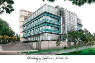 California Irvine Anteaters Campus Images Lithograph