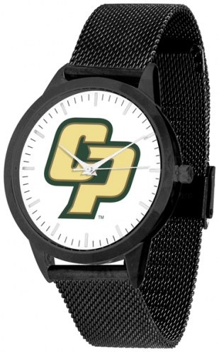 California Polytechnic State Mustangs Black Mesh Statement Watch