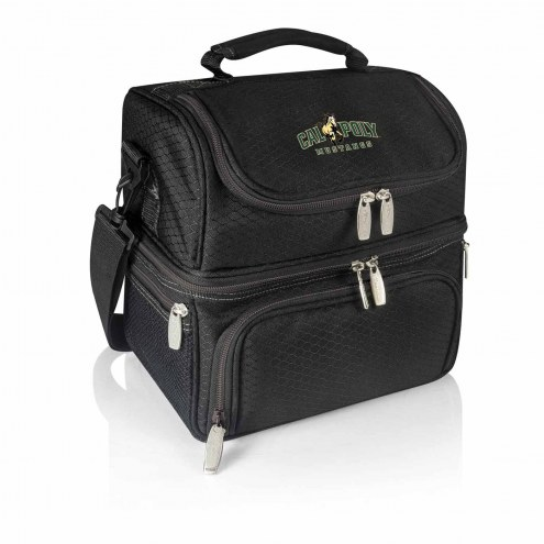 California Polytechnic State Mustangs Black Pranzo Insulated Lunch Box