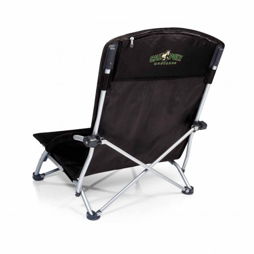 California Polytechnic State Mustangs Black Tranquility Beach Chair