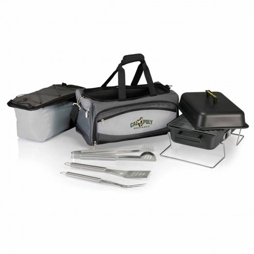 California Polytechnic State Mustangs Buccaneer Grill, Cooler and BBQ Set