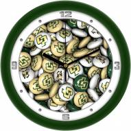 California Polytechnic State Mustangs Candy Wall Clock