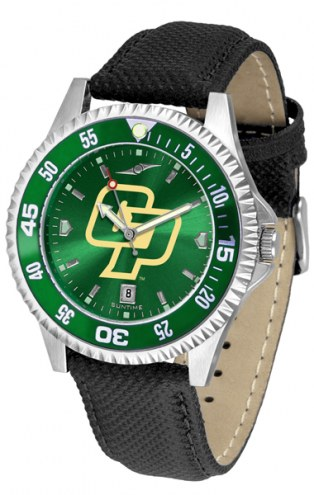 California Polytechnic State Mustangs Competitor AnoChrome Men's Watch - Color Bezel