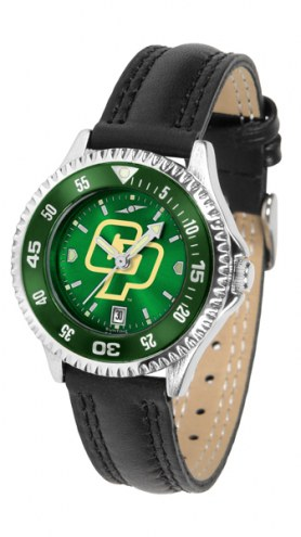 California Polytechnic State Mustangs Competitor AnoChrome Women's Watch - Color Bezel
