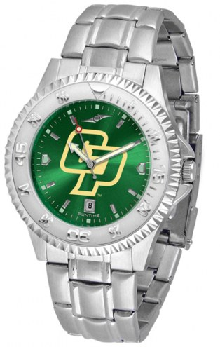 California Polytechnic State Mustangs Competitor Steel AnoChrome Men's Watch