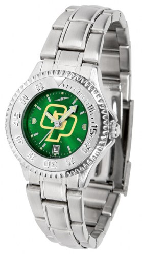 California Polytechnic State Mustangs Competitor Steel AnoChrome Women's Watch