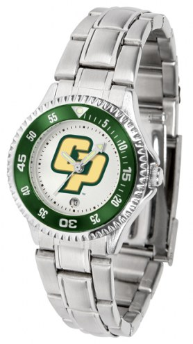California Polytechnic State Mustangs Competitor Steel Women's Watch