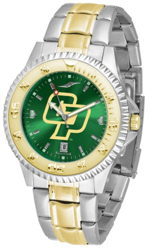 California Polytechnic State Mustangs Competitor Two-Tone AnoChrome Men's Watch