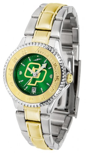 California Polytechnic State Mustangs Competitor Two-Tone AnoChrome Women's Watch