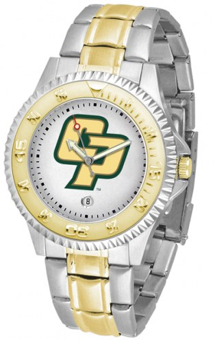 California Polytechnic State Mustangs Competitor Two-Tone Men's Watch