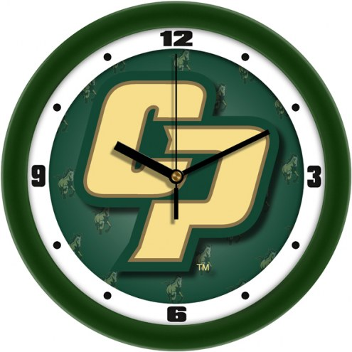 California Polytechnic State Mustangs Dimension Wall Clock